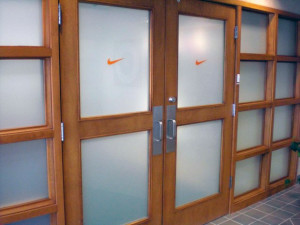 Window tint, Nike office interior, Indianapolis IN