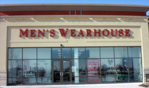 3M window tint, Men's Wearhouse exterior, Indianapolis IN