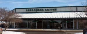 l3M window tint, Starbucks exterior, Greenwood IN
